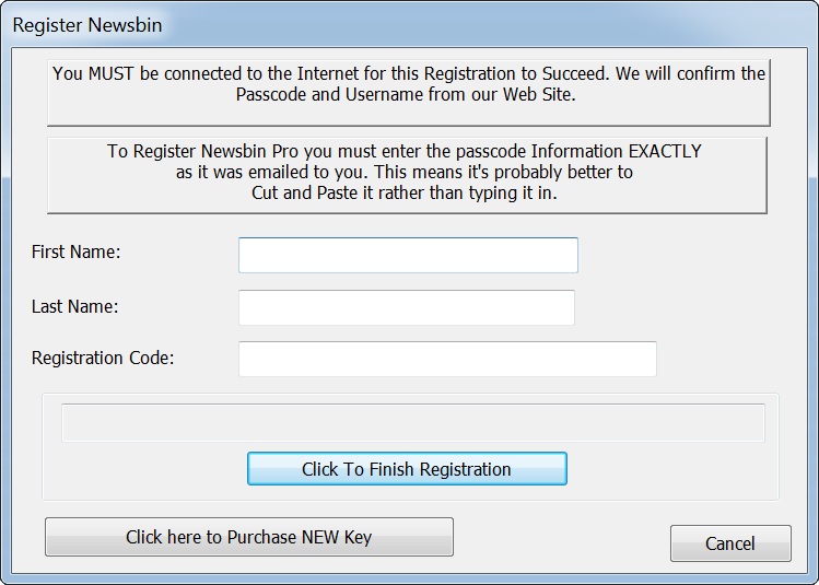 How to Register Newsbin Pro